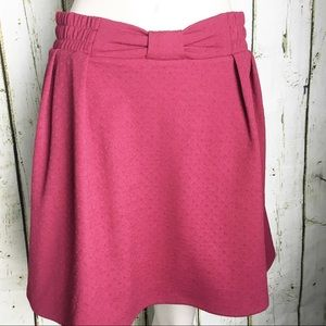 Lauren Conrad Red Skirt Size S . NWT